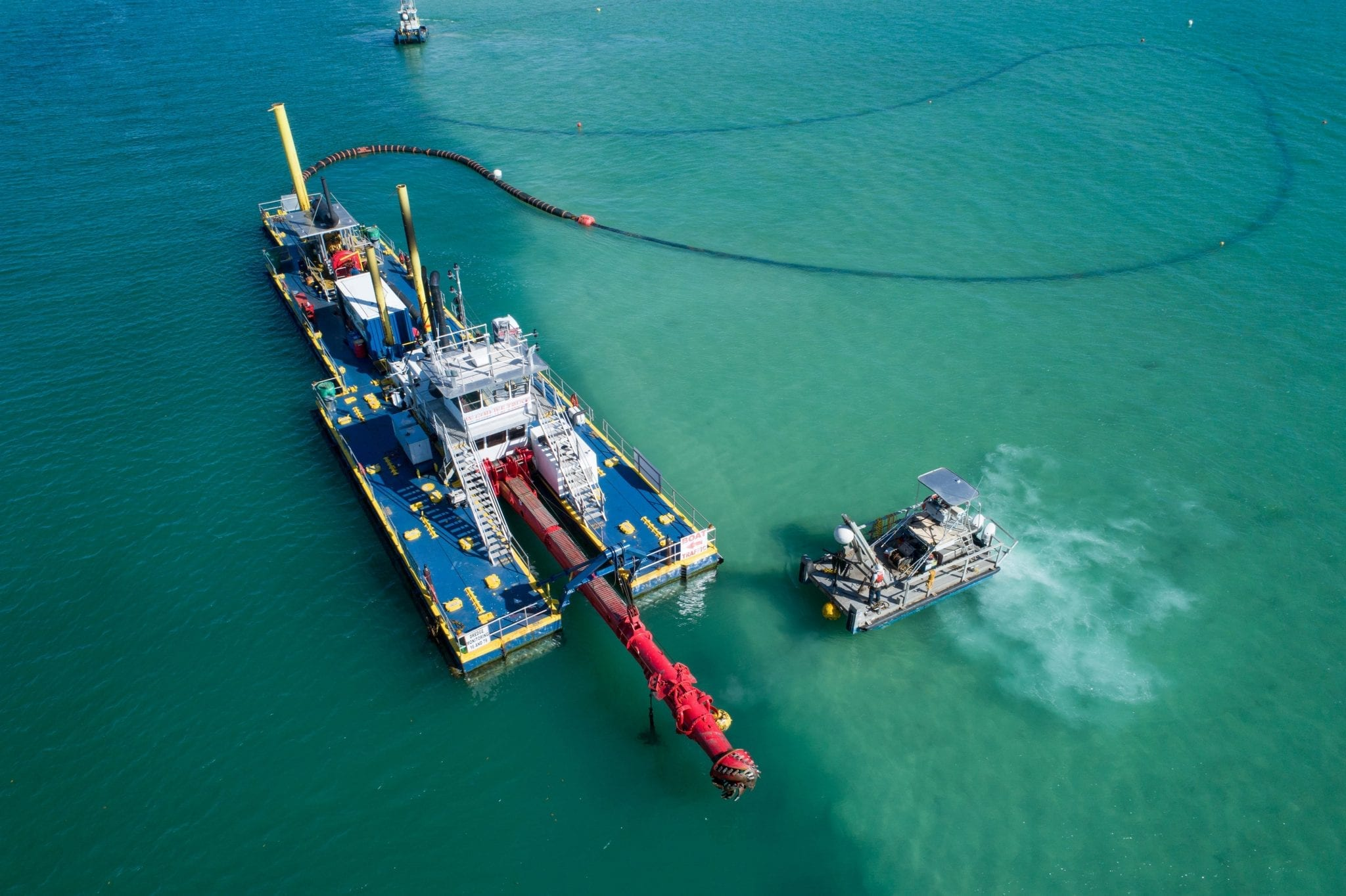SNF serves many markets and  Dredging is just one