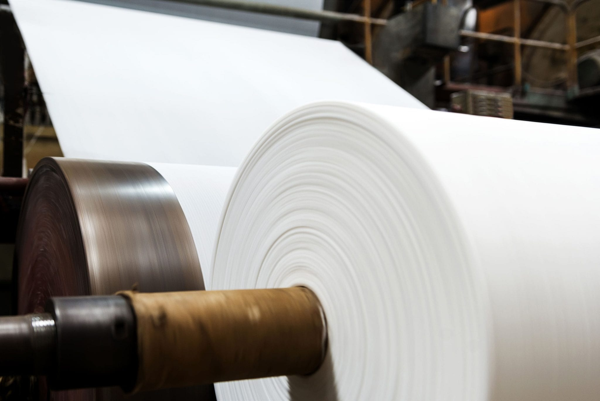 SNF serves many markets and  Pulp & Paper is just one